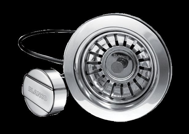 Mechanical Pop-up Kitchen Strainer With Round Button