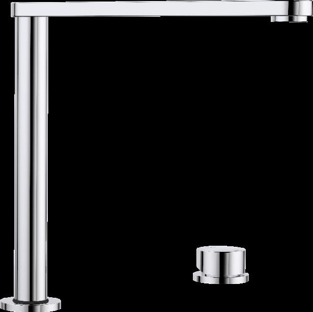 BLANCO ELOSCOPE ist eine elegante Armatur mit eine klaren Designsprache
