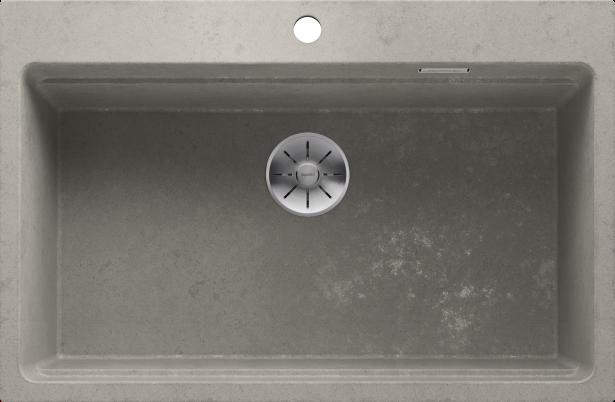 BLANCO ETAGON 8 Silgranit PuraDur, Concrete-Style, with InFino