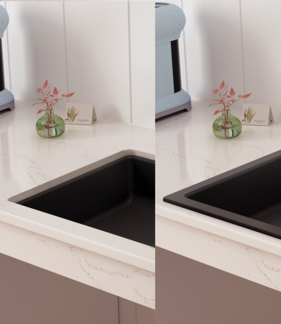 What are the different ways you can install a kitchen sink?