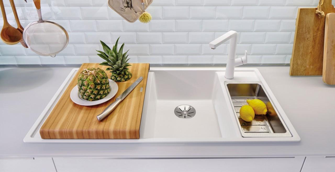 Мойки BLANCO для монтажа в столешницу сверху — концепция для любой кухни