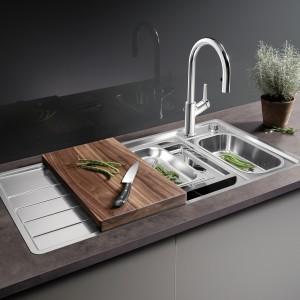 BLANCO AXIS stainless steel sinks are setting new standards