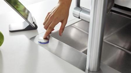 Blanco SensorControl Blue Ablauffernbedienung