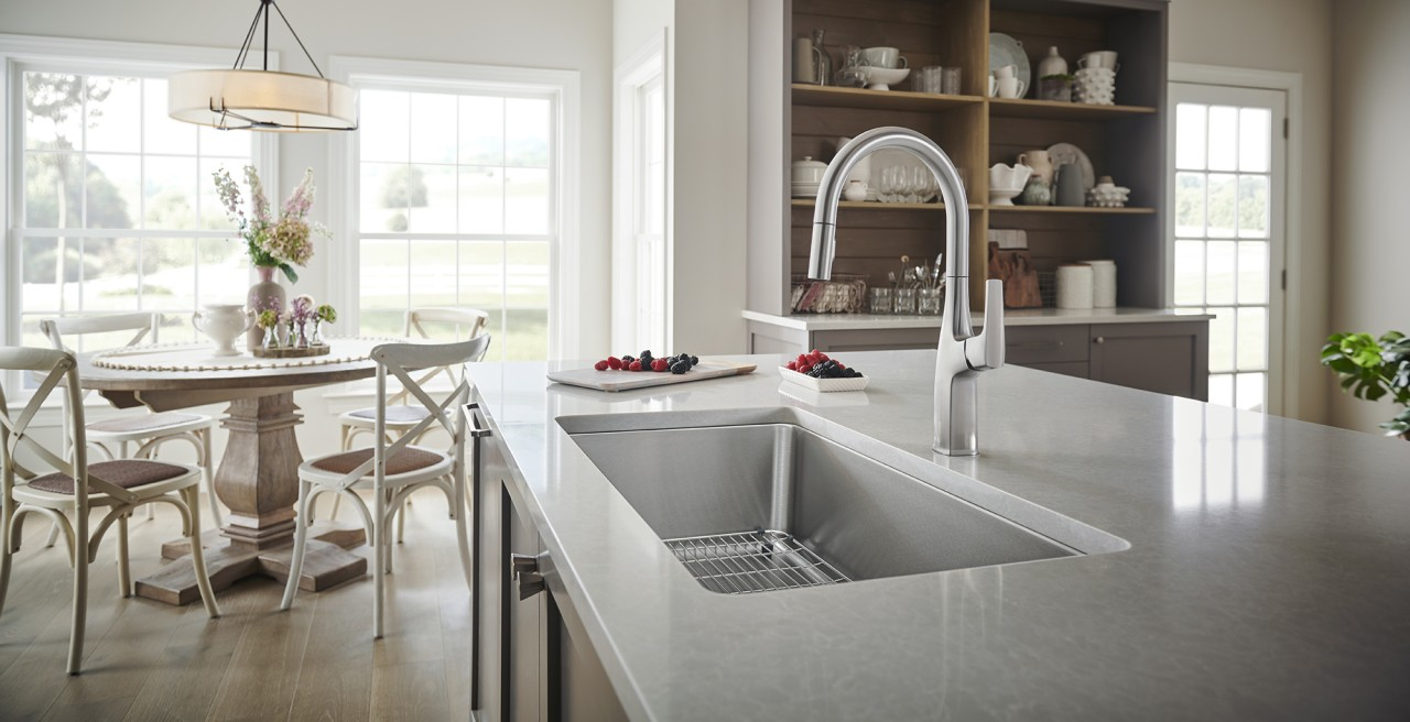 Formera Stainless Steel Kitchen Sink - BLANCO stainless steel will keep its brilliance for decades