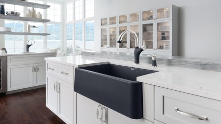 BLANCO IKON SILGRANIT Farmhouse Kitchen Sink