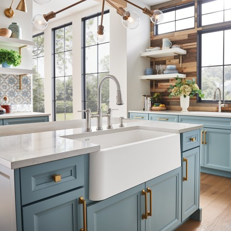IKON 33 1.75 SILGRANIT Kitchen Farmhouse Sink
