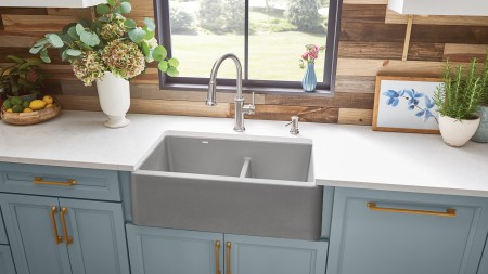 Farmhouse Kitchen SInk Installation - Blanco Canada