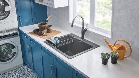 BLANCO LIVEN SILGRANIT Drop-In Laundry Sink