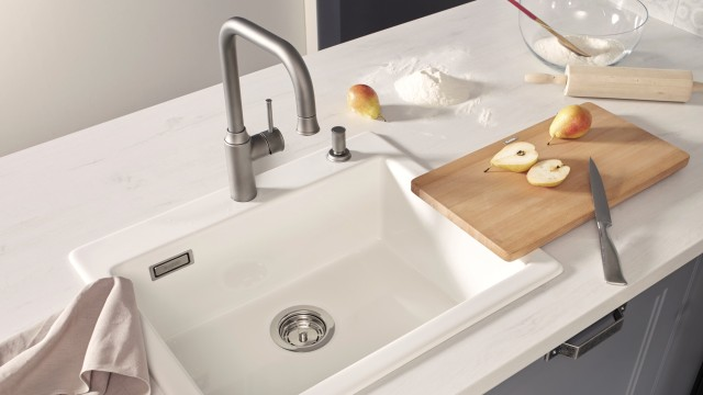 BLANCO PALONA bietet das perfekte Design für moderne Küchenwelten