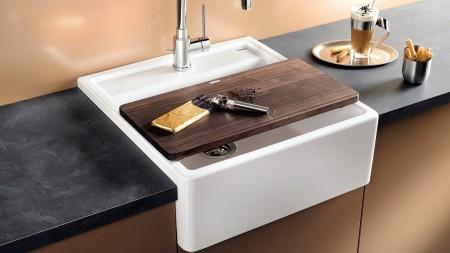 Zeitlos und solide: Der Spülstein der BLANCO PANOR weckt die Nostalgie in Ihrer Küche