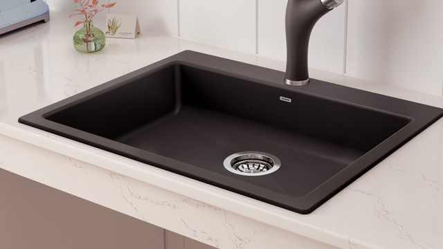 BLANCO Wheelchair Accessible Sinks - Rear Positioned Drain Holes