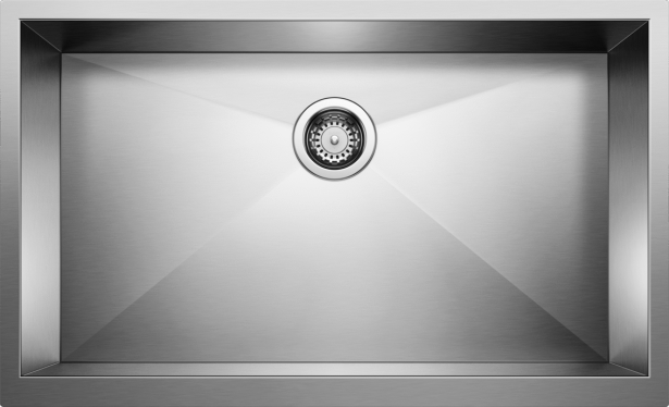 PRECISION DURINOX Super Single Farmhouse Kitchen Sink