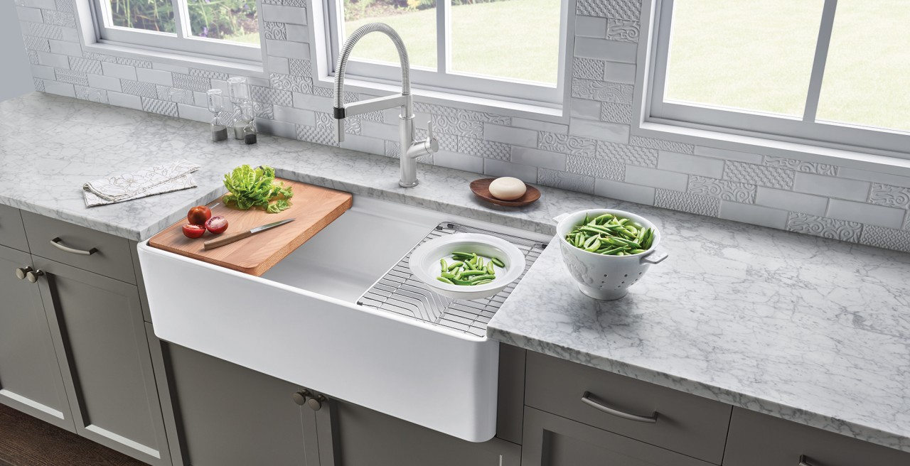 Ceramic Fireclay Kitchen Sinks Blanco