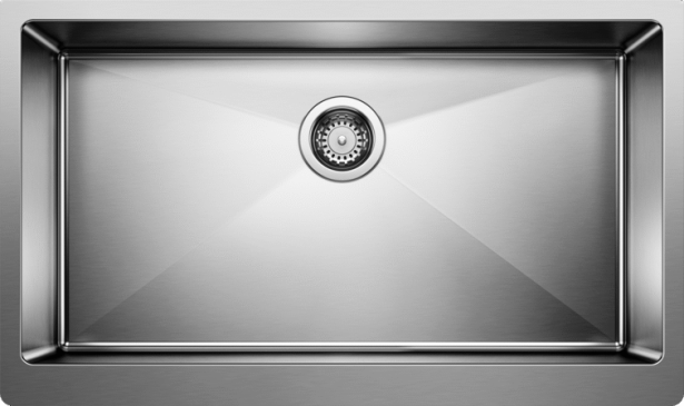 QUATRUS R15 Apron Super Single Stainless Kitchen Sink