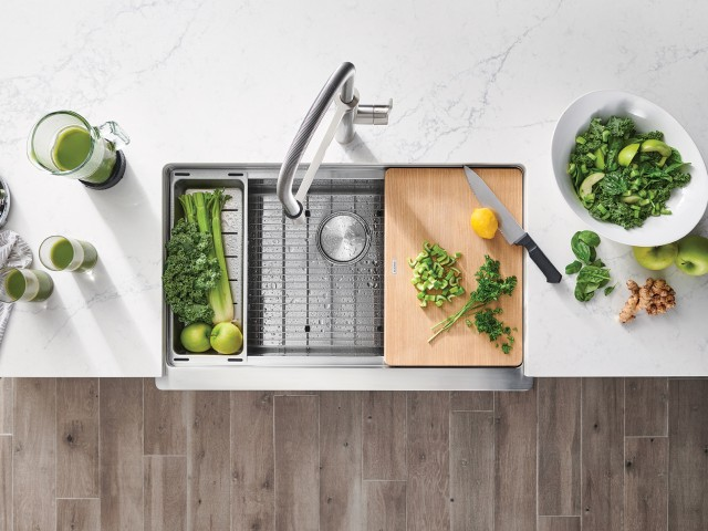 Elevate your kitchen experience with high-quality BLANCO kitchen accessories