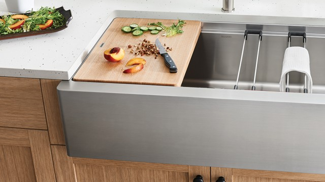 QUATRUS ERGON Stainless Steel Sink