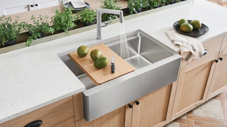 BLANCO QUATRUS ERGON Stainless Steel Kitchen Sinks