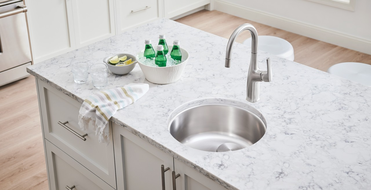 BLANCO RONDO - Bar and Preparation sink in Stainless Steel