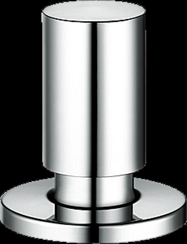 Round chrome pop-up control