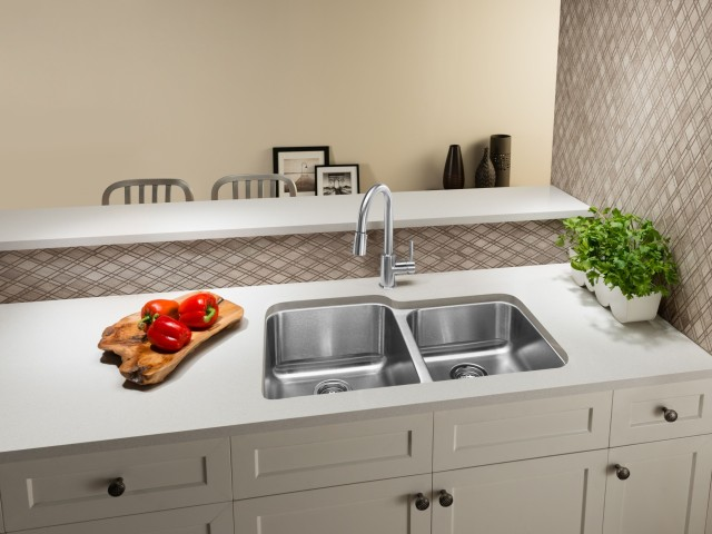 STELLAR Double Bowl Stainless Steel Kitchen Sink