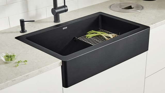 How to install a VINTERA farmhouse sink with a flushmount installation
