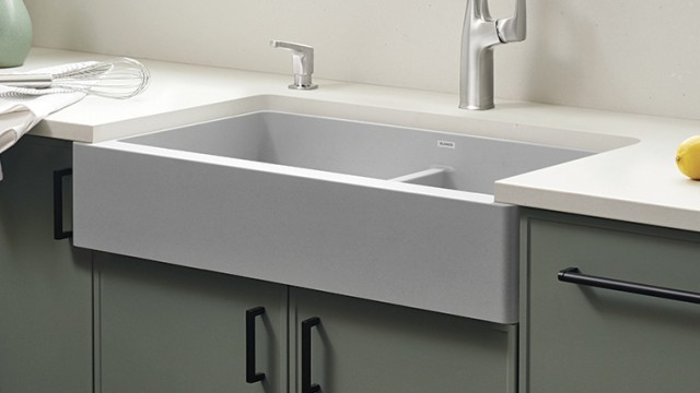 How to install a VINTERA farmhouse sink with an undermount installation