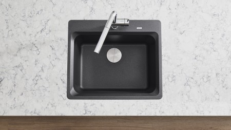 BLANCO VISION 1 - Single Bowl Kichen Sink in SILGRANIT Anthracite