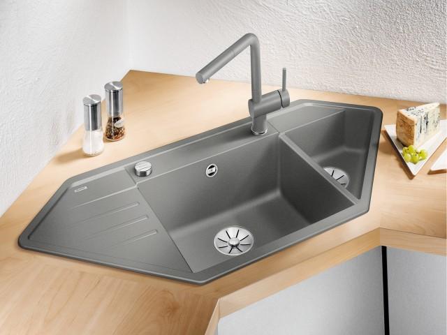 LEXA corner sink