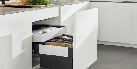 Mülltrennung in der Küche mit BLANCO Mülltrennsystemen