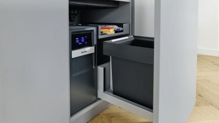 Raum optimal nutzen mit Speziallösungen wie Select II Soda oder Select II Compact.