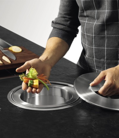 BLANCO offers waste separation solutions for your worktop