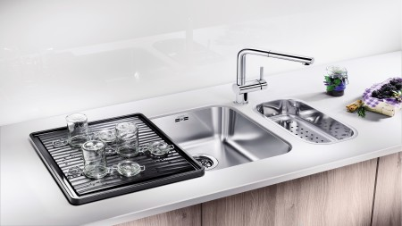 Cleaning stainless steel sinks