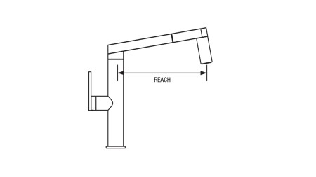 BLANCO Faucet - Installation Guide - What reach should my faucet be?