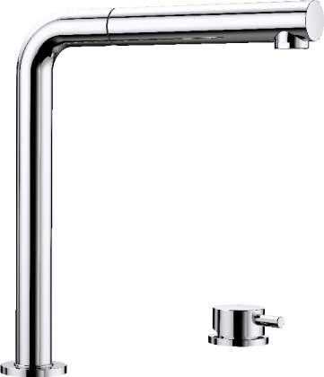 PERISCOPE window-facing mixer tap