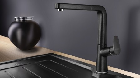 Colour-matching the sink and mixer tap