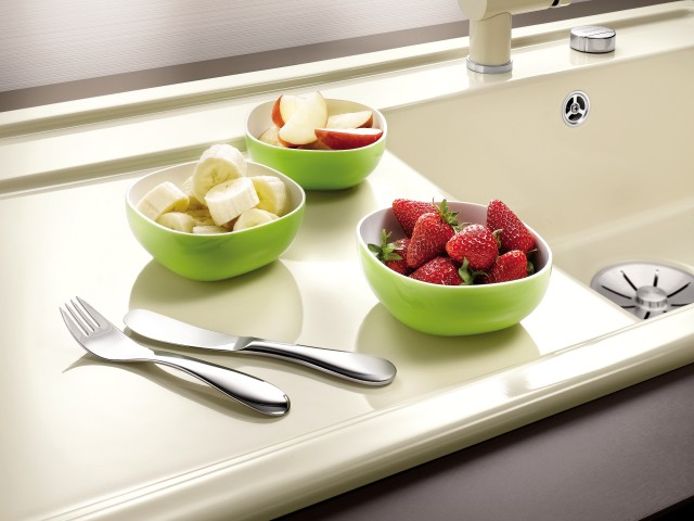 Ceramic surfaces are notable for their special hygiene properties.