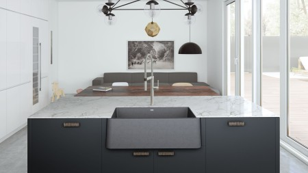 Metallic Gray SILGRANIT sink colour