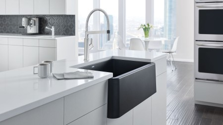 Anthracite SILGRANIT sink colour