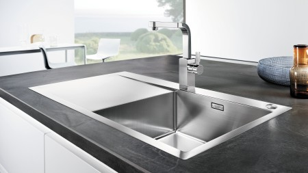 If you want your stainless steel sink to shine radiantly, BLANCO can provide you with useful care