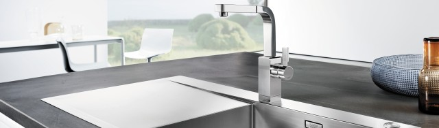 BLANCOFLOW sink – the design feature in your kitchen