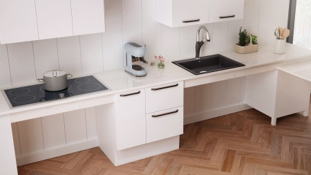 Precis ADA/CSA Wheelchair Accessible Kitchen Sink