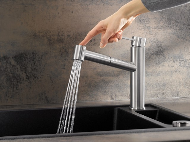 AMBIS stainless steel mixer tap