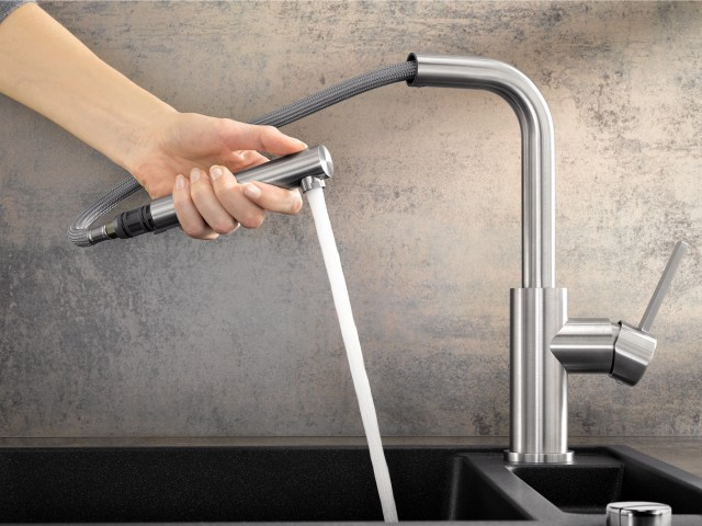 LANORA stainless steel mixer tap