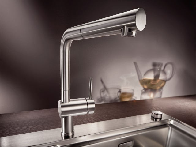 LINUS stainless steel mixer tap