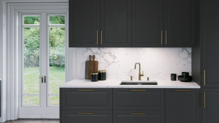 SILGRANIT® PuraDur® black is a real showstopper and an eye-catching feature.