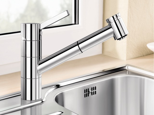removable ALTA windows-facing mixer tap