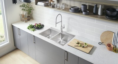 BLANCO presents a wide range of kitchen faucets to enhance the look and functionality of your space.