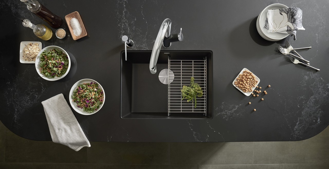The legacy continues with BLANCO SILGRANIT. Canada's leading coloured sink material.