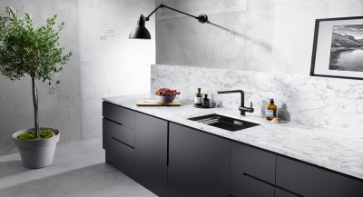 SILGRANIT SINKS AND TAPS