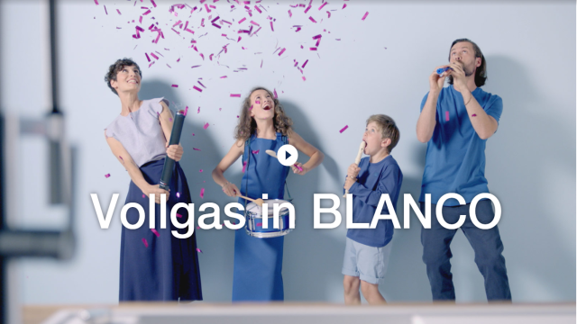 Vollgas in BLANCO